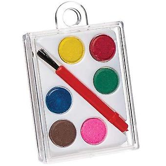 Baker ross ar466 mini watercolour paint palette set — creative art supplies for kids' crafts, p