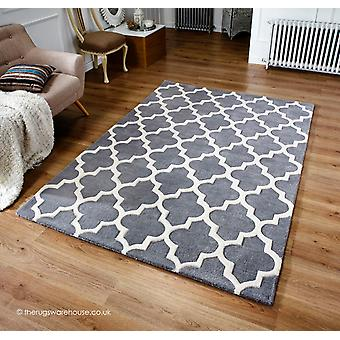 Tapis gris Arabesque