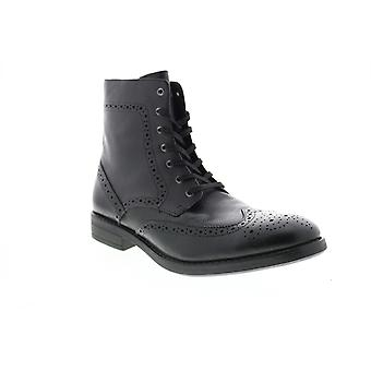 Andrew Marc Baycliff  Mens Black Synthetic Casual Dress Boots