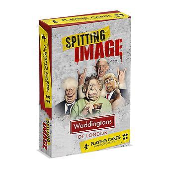 Spitting Image Waddingtons No.1 Playing Cards
