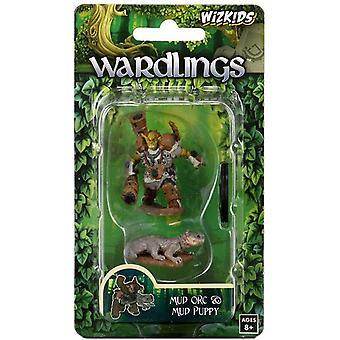 WizKids Wardlings Miniatures - Mud Orc & Mud Puppy