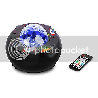 Projektor Galaxy Star, projektor night light z pilotem głośnika muzycznego