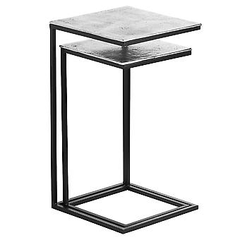 Hill Interiors Cast Aluminium End Table (Pack of 2)