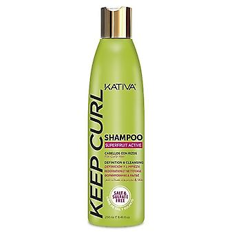 Kativa Champú Definición y Brillo para Rizos 250 ml