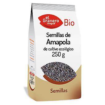 El Granero Integral Amapola Semillas 250 g Bio