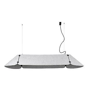 Faro FONOVIA - Integrert LED rett bar anheng grå, 4000K