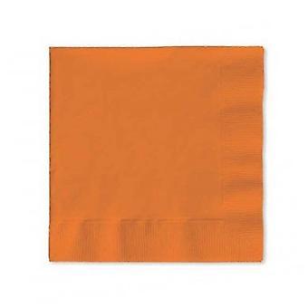 Bn 10/50Ct 3P Snkssd servilleta naranja