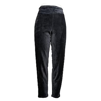 Cuddl Duds Dames's Leggings Fleecewear Stretch Grijs A369295