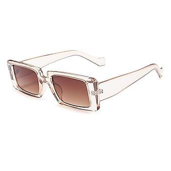 Shades Rectangle Sunglasses, Women Retro Frame Sunglass