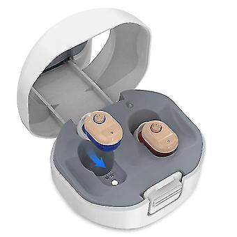 Aide auditive rechargeable dans les amplificateurs de son d'oreille audifonos aide auditive pour les personnes âgées sourd air conduction casque sans fil