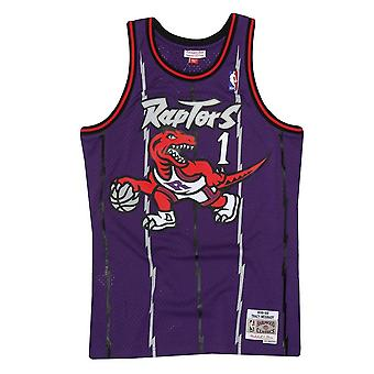 Mitchell & Ness Nba Toronto Raptors Tracy Mcgrady Swingman Jersey SMJYGS18215TRAPURP98TMC basketball  men t-shirt