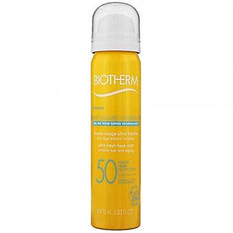 Biotherm Brume Solaire Hydratante Ultra Fresh Face Mist SPF50 75 ml