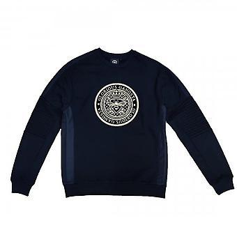 Glorious Gangsta Donaeo Black Crew Neck Logo Sweatshirt