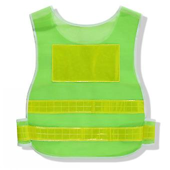 Reflective Vest Road Traffic Night Work Security Running Cycling Safety Reflective Vest High Visibility Night Riding Reflective Vest