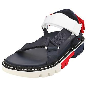 Tommy Jeans Color Pop Womens Walking Sandals in Twilight Navy
