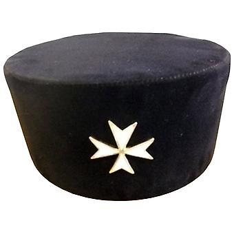 Ritter von Malta - Ritter Mütze mit Abzeichen