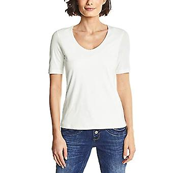 Street One 313104 Palmyra T-Shirt, Ivory (off White 10108), 40 (Size Manufacturer: 34) Woman