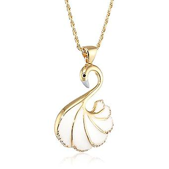 MISIS Women's-Mirabilia Silver Necklace 925 White Zircons 48 cm - CA07790