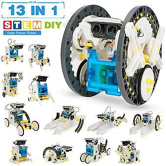 FengChun MINT Spielzeug Solar Roboter Kit für Kinder 13-in-1 Pädagogische Wissenschaft Kits Spielzeug lernen Wissenschaft