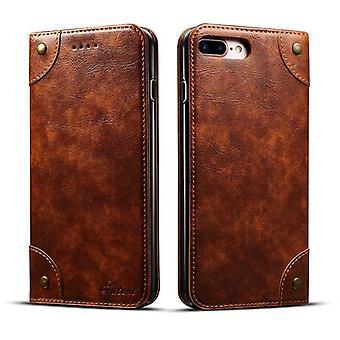 Slot per carte custodia in pelle portafoglio per iphone11pro 5.8 marrone chiaro pc3348