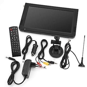 10 '' التلفزيون الرقمي Atsc التلفزيون المحمولة 1080p HD مشغل فيديو للسيارة الرئيسية