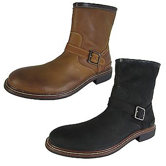 Cole Haan Mens Bryce Zip Tobillo Hebilla Bota de Invierno Zapatos