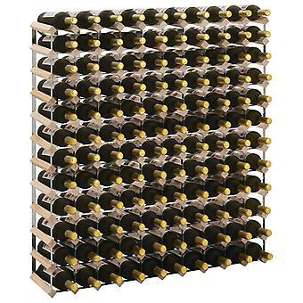 Weinregal für 120 Flaschen massive Kiefer