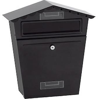 Caixa de cartas preta supahome