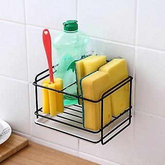 Hanging Storage Rack Kitchen Rag Dish Cloth Sponge Kitchen Organizer|Kitchen Cabinet Storage