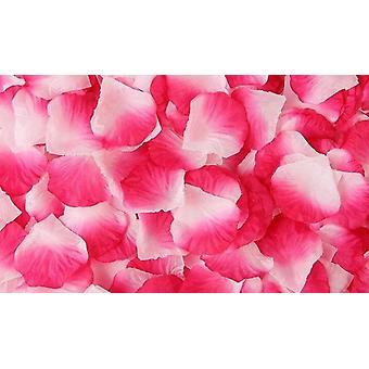 Seide Rose Blütenblätter für Hochzeitsdekoration