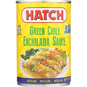 Hatch Sauce Enchlda Grn Med, Case of 12 X 15 Oz