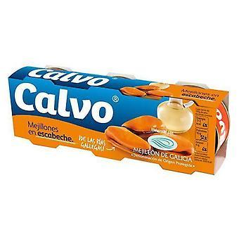 Blåskjell i syltet saus Calvo (3 x 80 g)