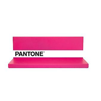 Mensola Shelfie, Colore Rosa, Bianco, Nero in Metallo, L40xP14xA13cm