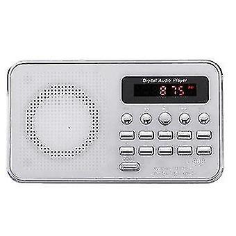Portable Bible Audio MP3 Player Speaker AUX SD TF Card Port FM Radio