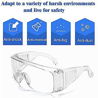 LichtGewicht Veiligheidsbril Transparant Universeel | Polycarbonaat | CE gekeurd | Vuurwerkbril | Beschermbril | Oogbeschermer | Spatbril | Stofbril | Overzetbril