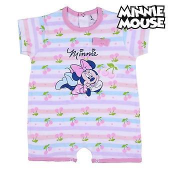 Dětský romper oblek Minnie Mouse s krátkým rukávem