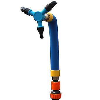 Children's Trampoline Sprinkler, Outdoor Backyard Water Park Sprinkler Summer Toy(Large)