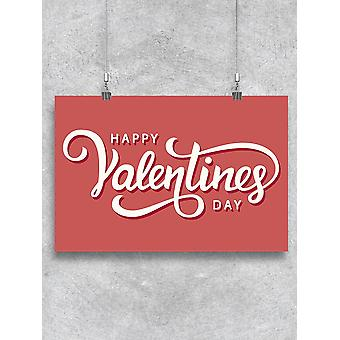 Greeting Valentine's Day Poster -Image by Shutterstock