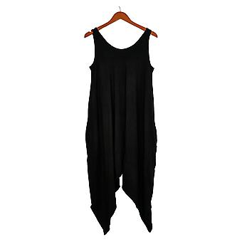 AnyBody Jumpsuits Cozy Knit Romper Black One-Piece A306964