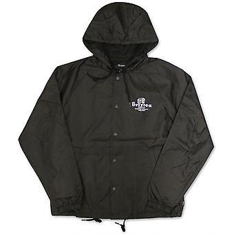 Brixton Tanka Windbreaker Jacket Black