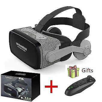 3D glasses 2019 shinecon casque 9.0 Vr virtual reality goggles 3d glasses google cardboard vr headset box for