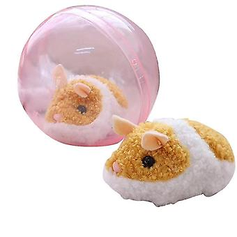 Pretend professions role playing 1pcs happy hamster/ball spherical hamster machine electric toy brain game|gags practical jokes