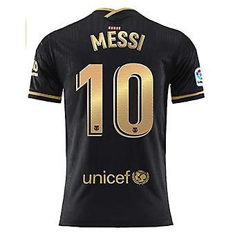 पुरुषों की फुटबॉल जर्सी मेसी #10 होम 2020/2021 न्यू सीजन मेंस बार्सिलोना सॉकर टी-शर्ट जर्सी साइज एस-3xl