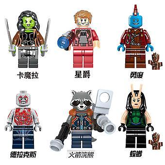 Marvel Avengers Minifiguur geassembleerde bouwstenen