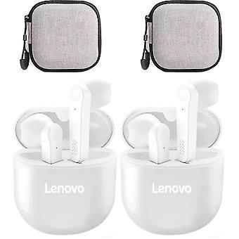 Lenovo Pd1 Tws Øretelefon Bluetooth Trådløse Ørepropper Hodesett Med Mikrofon Med Øretelefon Tilfelle