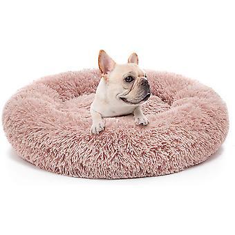 Hundeseng komfortabel cuddler runde ultra blød vaskbar og pude
