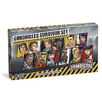 Zombicide 2nd Edition Chronicles Survivors Set Expansion Board Game