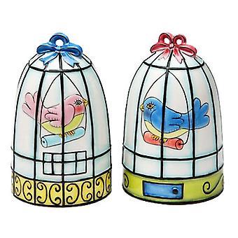 Vogel Birdcage zout en peper Shakers Set