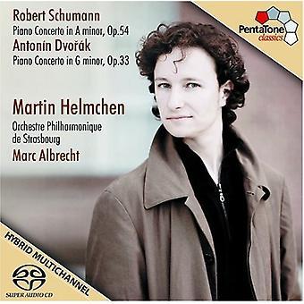 Schumann/Dvorak - Schumann, Dvor K: Piano Concertos [SACD] USA import