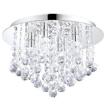 Světelný strop EGLO ALMONTE Chrome Hanna